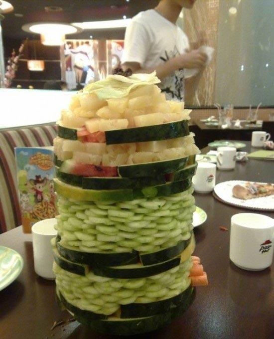 """مهندسی """"برج های سالادی"""" در چین +عکس"""