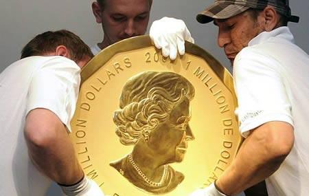 بزرگترین سکه طلا