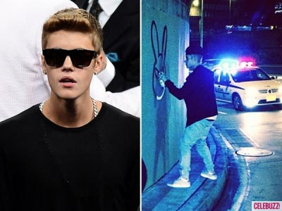 بازداشت جاستين بيبر در شهر ريو + عكس