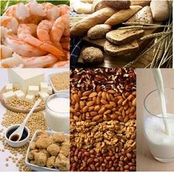 حساسیت به انواع غذاها در کودکان