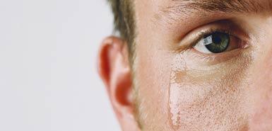گریه کردن مرد چه پیامی دارد