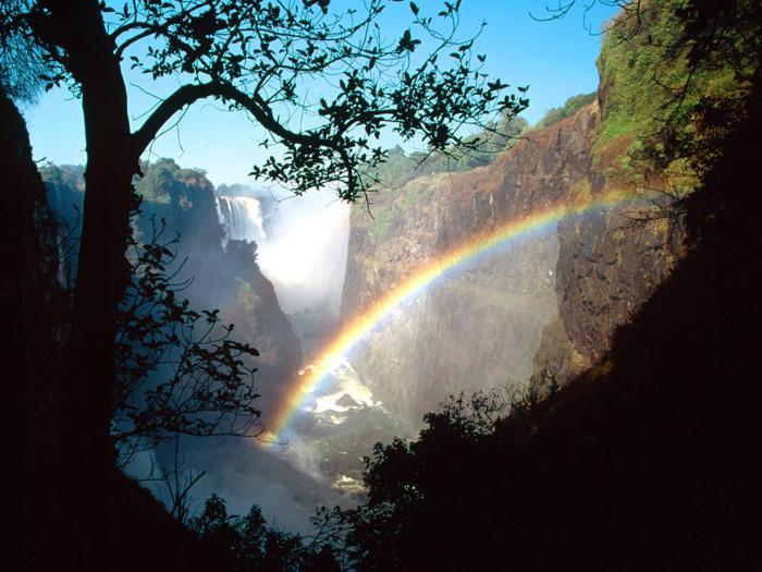 Rainbow 002 عکس های رنگین کمان های زیبا