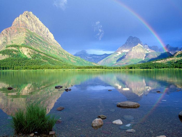 Rainbow 004 عکس های رنگین کمان های زیبا