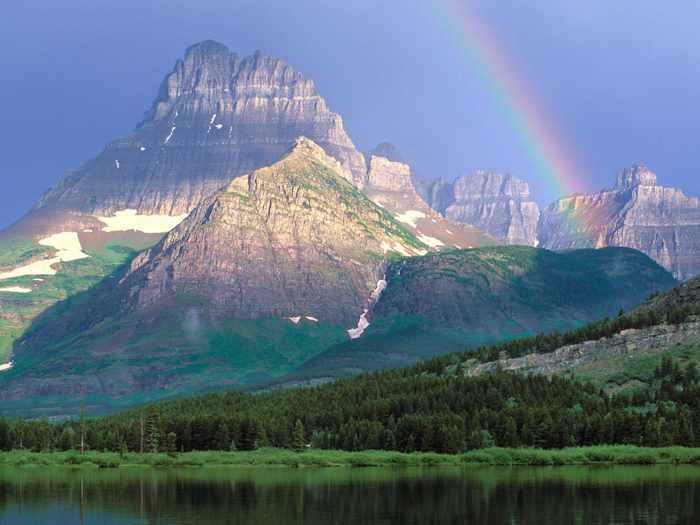Rainbow 006 عکس های رنگین کمان های زیبا