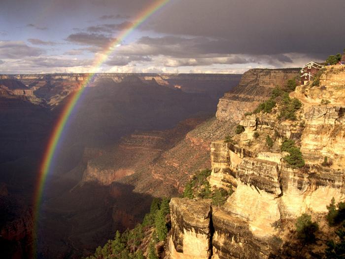 Rainbow 011 عکس های رنگین کمان های زیبا