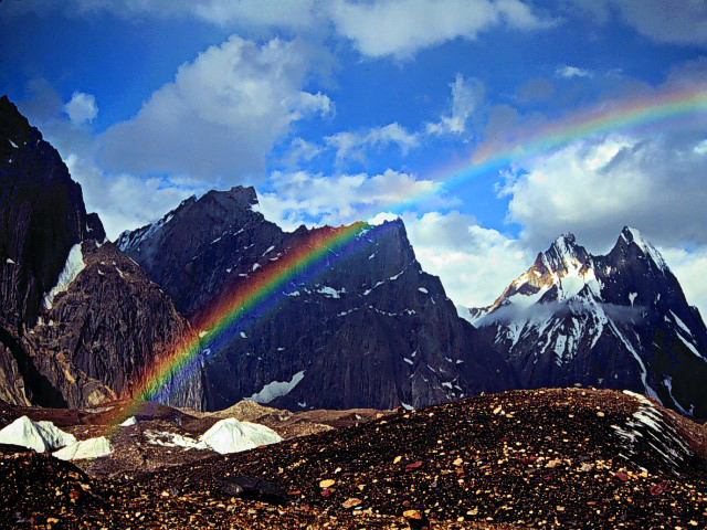 Rainbow 014 عکس های رنگین کمان های زیبا
