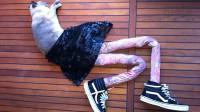 گربه های جوراب شلواری پوش، جدیدترین سوژۀ اینترنتی + عکس