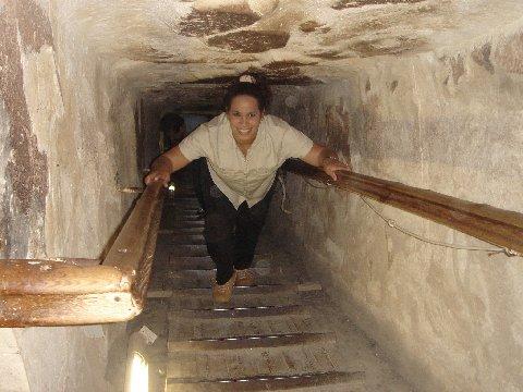 تصاویر دیدنی از درون اهرام مصر