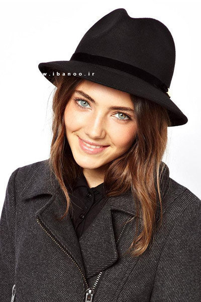 کلاه زمستانی برای صورت های مربعی 2
