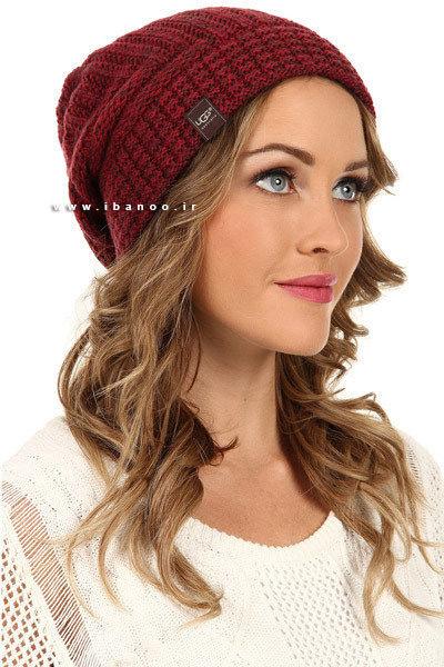 کلاه زمستانی برای صورت های بیضی شکل