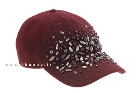 کلاه زمستانی برای صورت های بیضی شکل 2