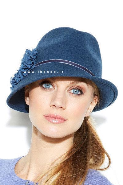 کلاه زمستانی برای صورت های گرد