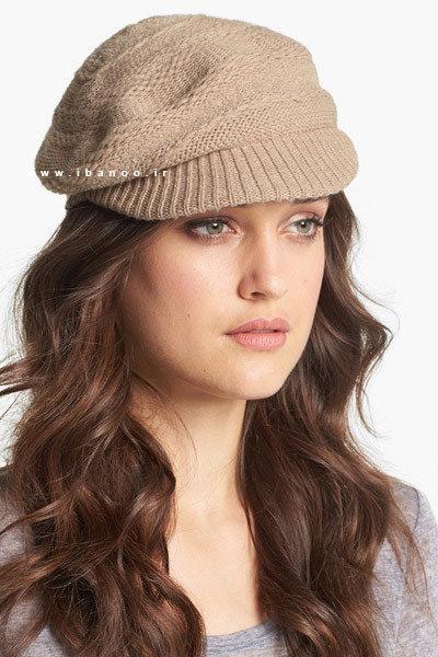 کلاه زمستانی برای صورت های گرد 2