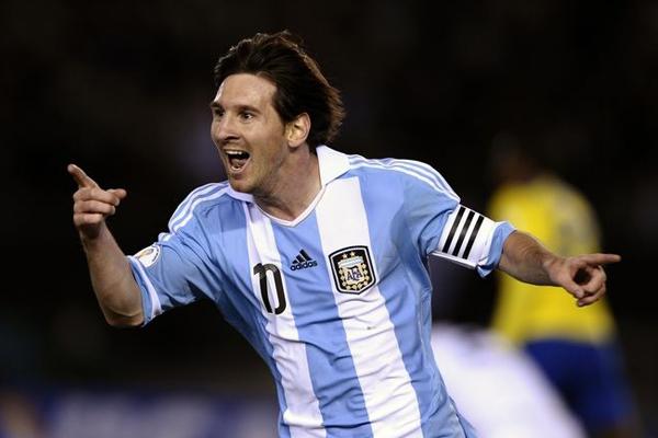 مسی ستاره آرژانتین