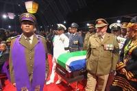 ماندلا چه طور به خاک سپرده می شود ؟/عکس