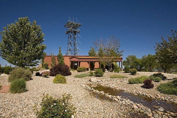 خانه زیبا ومقاوم در برابر انفجار هستهای /عکس
