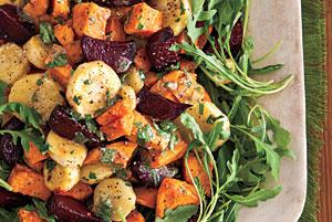 طرز تهیه سالاد سبزیجات کبابی