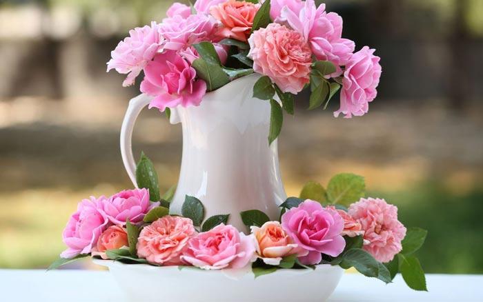 04 عکس های تزئینات فانتزی و زیبا با گل رز