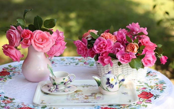 08 عکس های تزئینات فانتزی و زیبا با گل رز