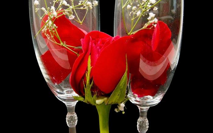 09 عکس های تزئینات فانتزی و زیبا با گل رز