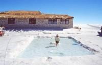 هتلی ساخته شده از نمک در بولیوی / عکس