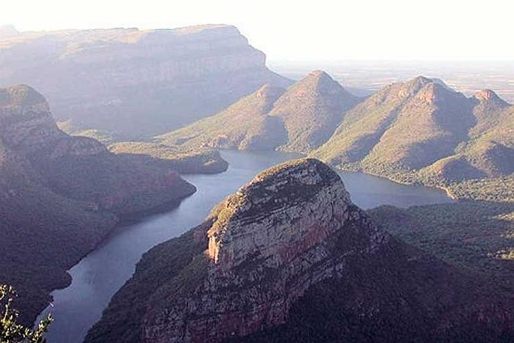 منظره ناحیه مپومالانگا در كشور آفریقای جنوبی.