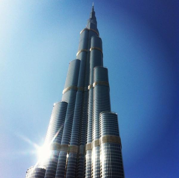 بزرگترین و برترین آسمان خراشهای دنیا,Burj-Khalifa1-600x598