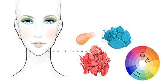 استفاده از تئوری رنگ ها برای آرایش جدید