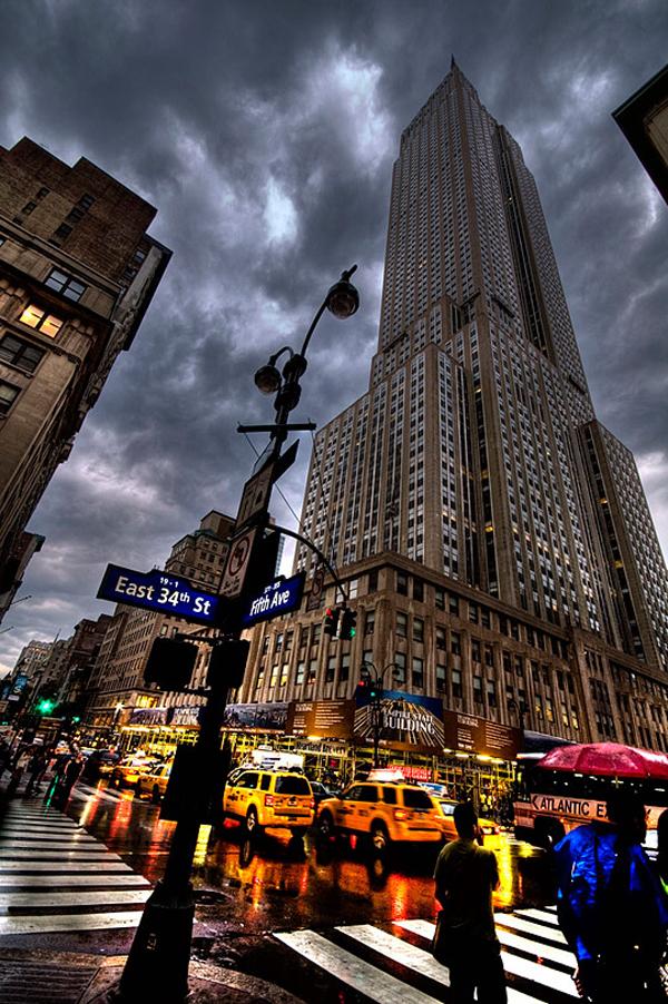 بزرگترین و برترین آسمان خراشهای دنیا,Empire-State-Building-David-Cornejo