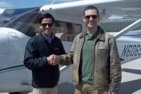 شگفتی آمریکاییهایی از فرود اضطراری خلبان ایرانی در خیابان