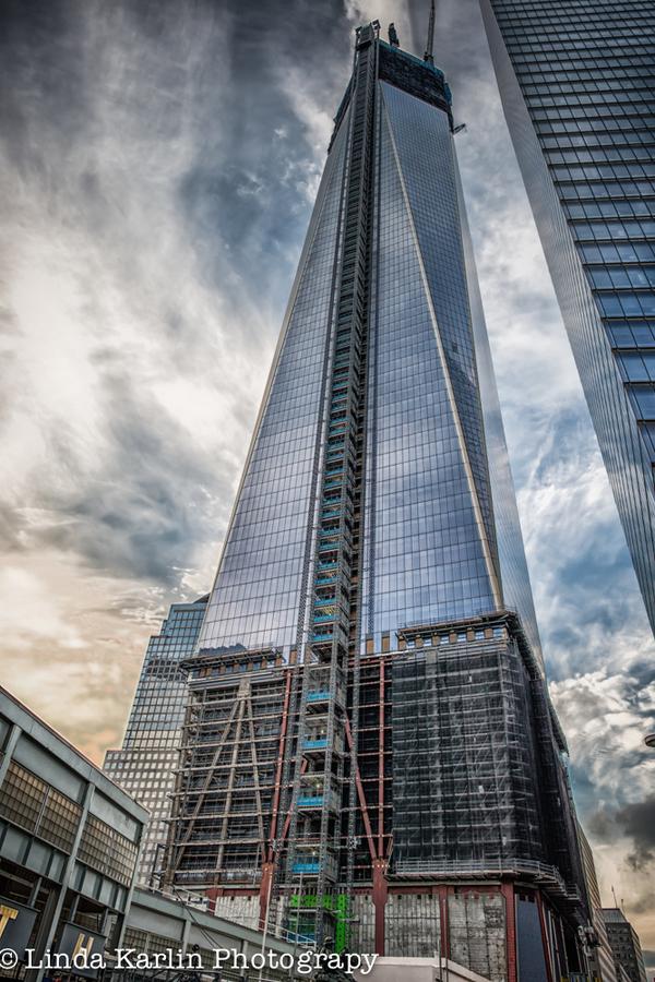 بزرگترین و برترین آسمان خراشهای دنیا,One-World-Trade-Center-Linda-Karlin