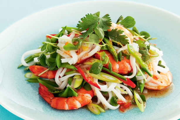 asian-prawn-noodle-salad