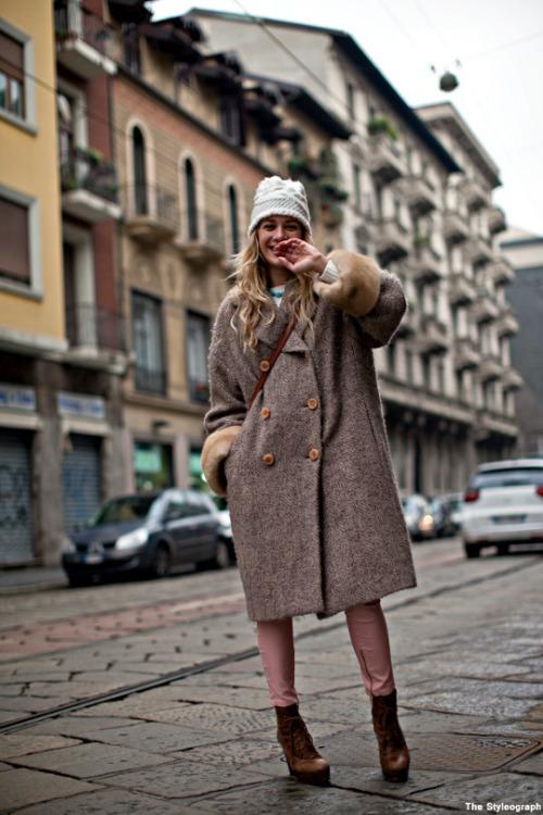 ست کامل لباس زمستانه دخترانه