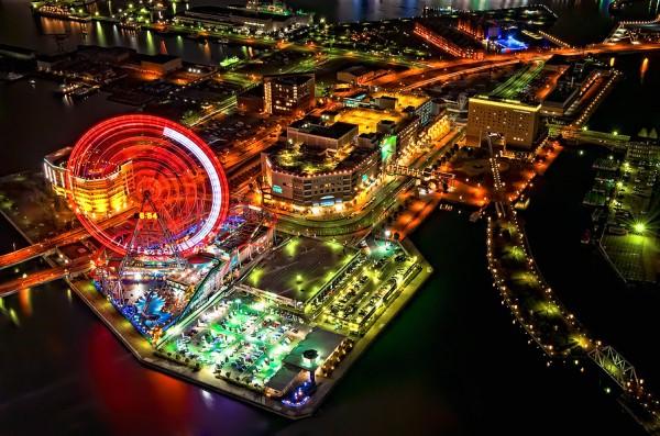 بهترین پارک های تفریحی جهان,yokohama-OaKy-Isra-600x397