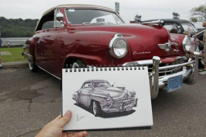 085 عکس نقاشی ماشین aks mashin
