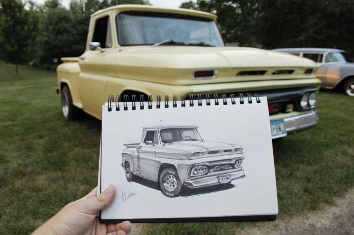 144 عکس نقاشی ماشین aks mashin