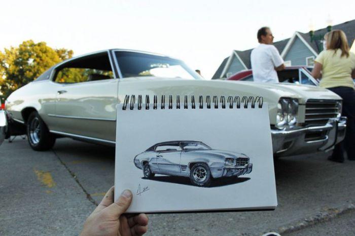 165 عکس نقاشی ماشین aks mashin