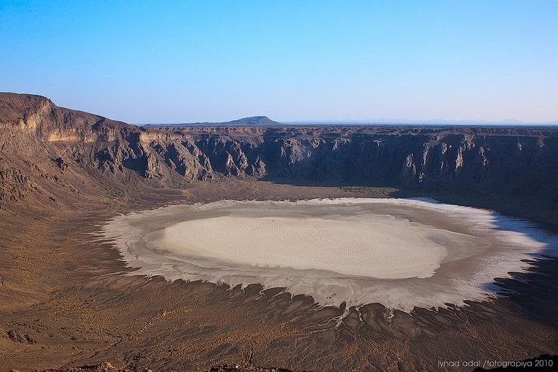 آتشفشان شگفتانگیز در عربستان + عکس