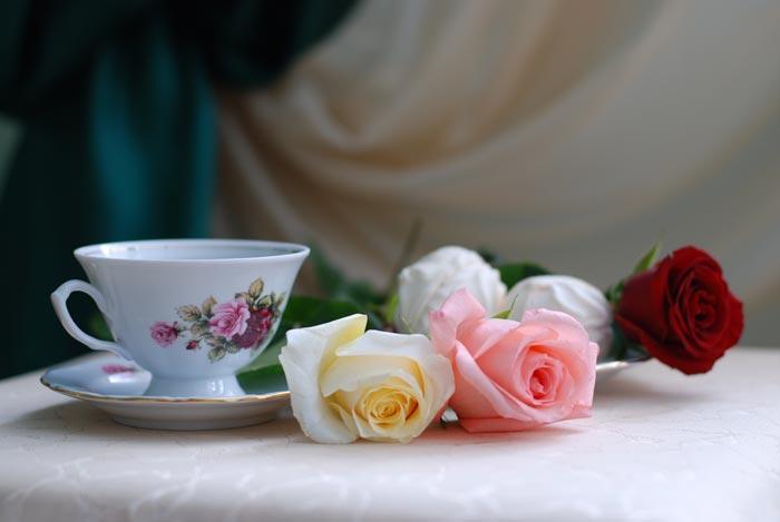 21 تصاویر تزئینات فوق العاده زیبا با گل رز