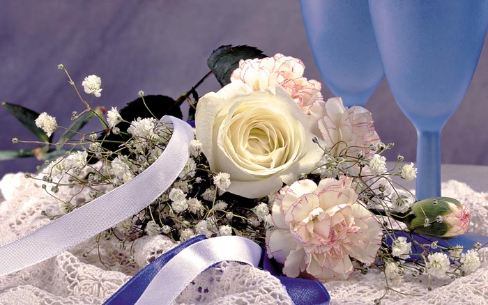 25 تصاویر تزئینات فوق العاده زیبا با گل رز