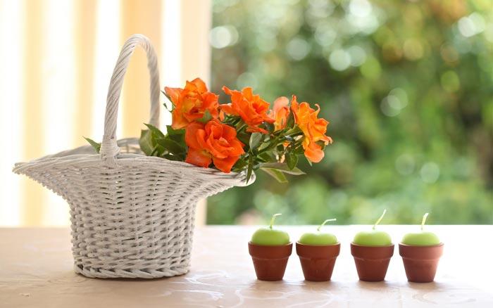 28 تصاویر تزئینات فوق العاده زیبا با گل رز