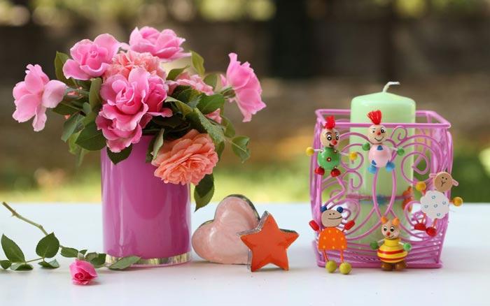 32 تصاویر تزئینات فوق العاده زیبا با گل رز