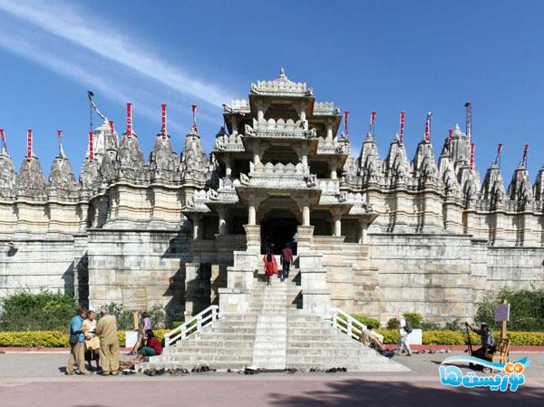 معبد مرمرین جین
