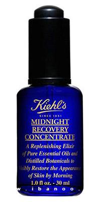 کرم های ضد چروک پوست,محصولات جوان کننده صورت,Kiehls MidnightRecoveryConcentrate-6