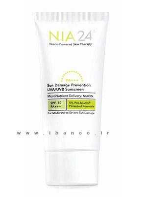 کرم های ضد چروک پوست,محصولات جوان کننده صورت,NIA SunDamageSPF-5