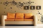 دکوراسیون مدرن با استفاده از کاغذ دیواری