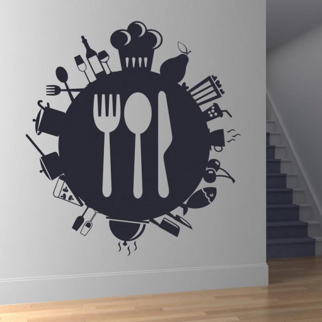 کاغذ دیواری برای آشپزخانه