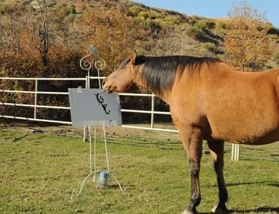 اسب نقاش
