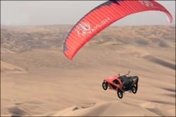 خودروی پرنده با سرعت 100 مایل بر ساعت + عکس