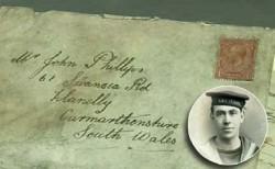 نامهای پس از حدود یک قرن به مقصد رسید+عکس
